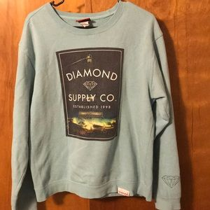 Men's Diamond Supply Co Crew neck Sweatshirt